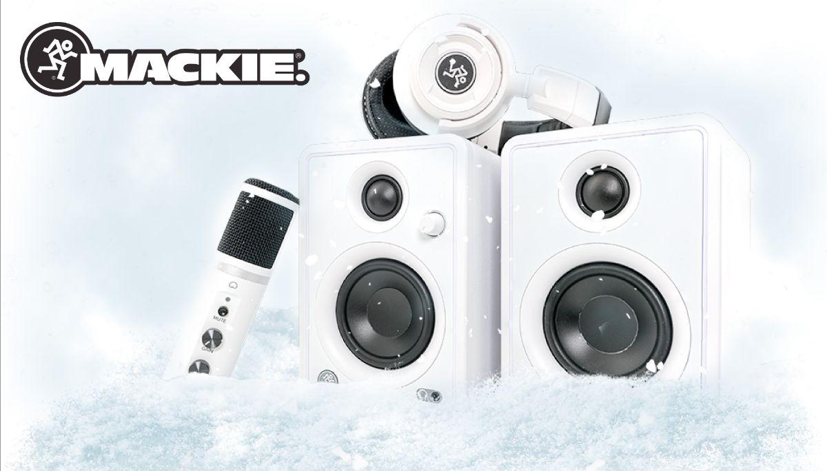 Mackie edición limitada Arctic White - Nueva Letusa