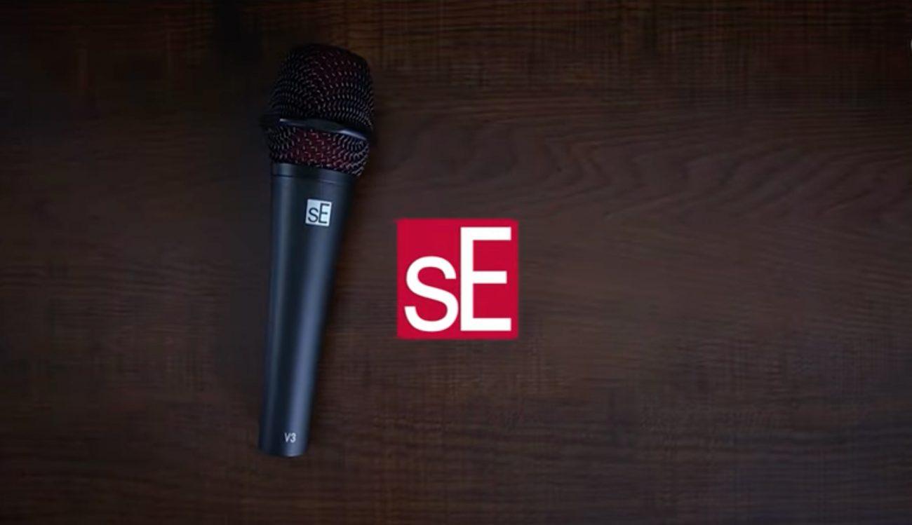 sE Electronics v3 microfono
